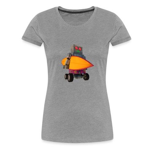SURF, MACHINE - Women's Premium T-Shirt