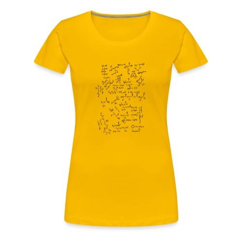 Organic chemistry: The Finale - Women's Premium T-Shirt