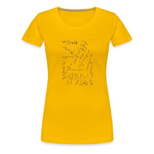 Organic Chemistry Design 2 - Women's Premium T-Shirt