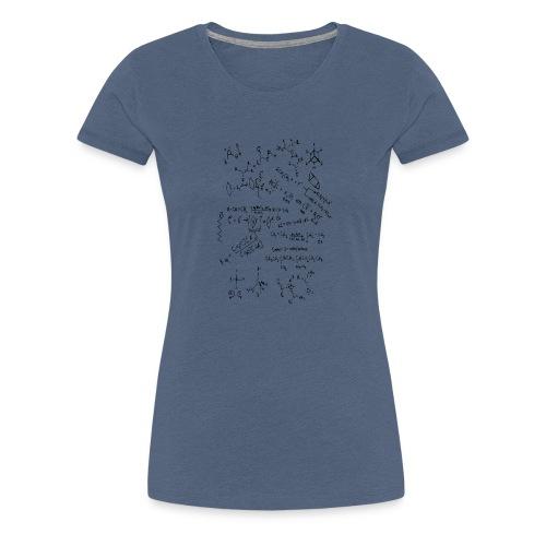 Organic chemistry first draft - Women's Premium T-Shirt