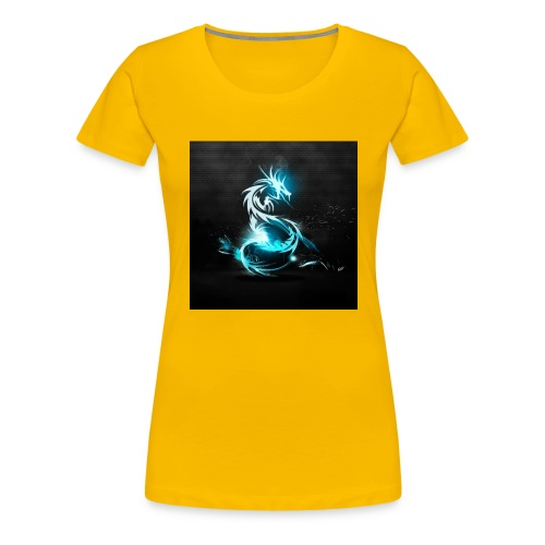 dragon light - Women's Premium T-Shirt