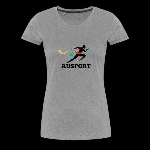 AUSPORT - Women's Premium T-Shirt