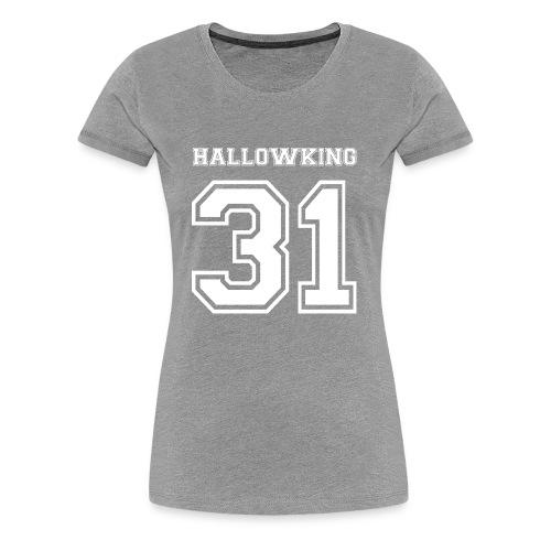 Halloween Hallowking - Women's Premium T-Shirt