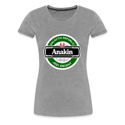 Beer Wars - Anakin - Women's Premium T-Shirt