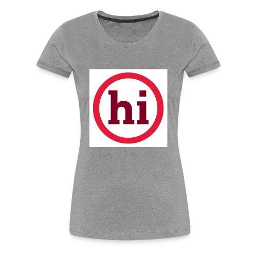 hi T shirt - Women's Premium T-Shirt
