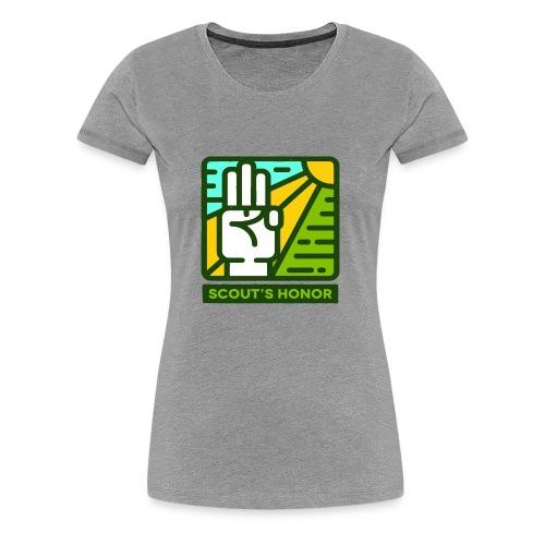 scouts honour - Women's Premium T-Shirt