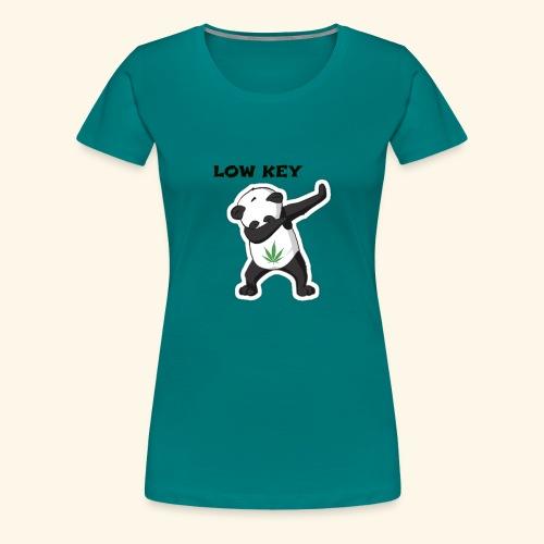 LOW KEY DAB BEAR - Women's Premium T-Shirt