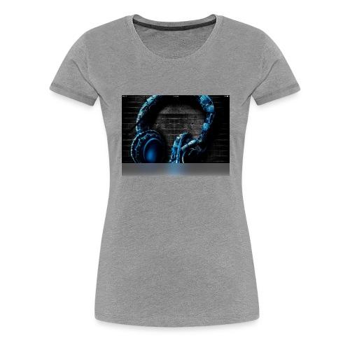 Headphonesm - Women's Premium T-Shirt