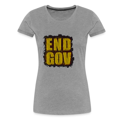 END GOV Sprinkled Design - Women's Premium T-Shirt