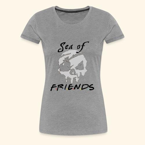 Sea of Friends - Women's Premium T-Shirt