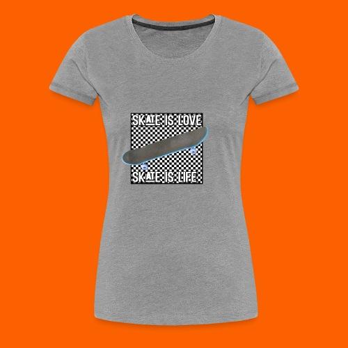 SK8 is Love - Women's Premium T-Shirt