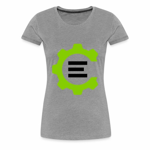 Giant Logo - Women's Premium T-Shirt