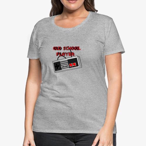 Old School Player - Women's Premium T-Shirt