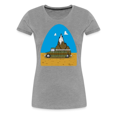 faith moves mountains 2018 - Women's Premium T-Shirt