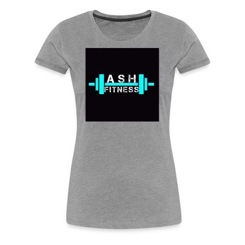 ASH FITNESS ACCESSORIES - Women's Premium T-Shirt
