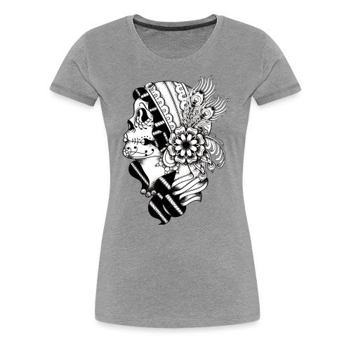 Gypsy Tattoo BW - Women's Premium T-Shirt