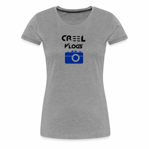 Creel Vlogs - Women's Premium T-Shirt
