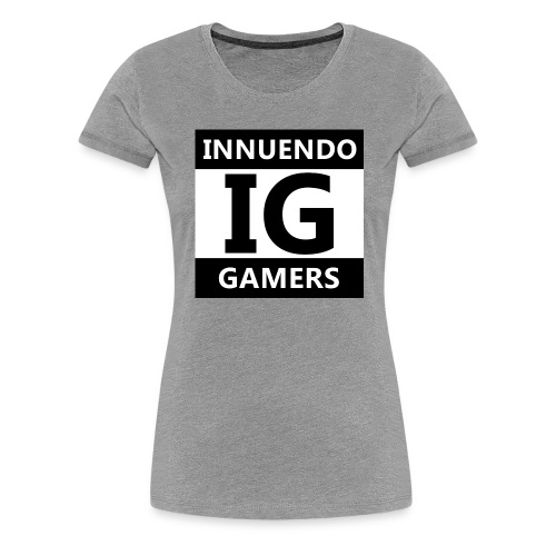 Innuendo Gamers - Women's Premium T-Shirt