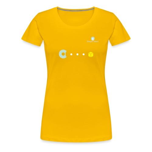 SimpleToken Pacman by Titus - Women's Premium T-Shirt