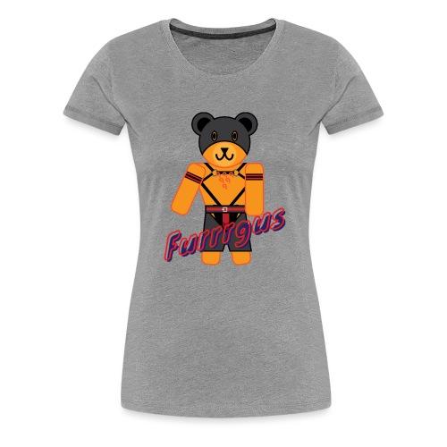 Leather Furrrgus - Women's Premium T-Shirt