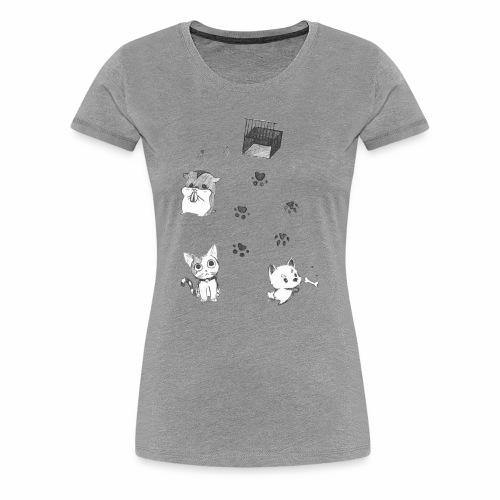 #FreeTheAnimals - Women's Premium T-Shirt