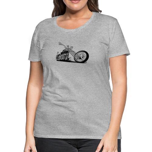 Custom American Chopper Motorcycle - Women's Premium T-Shirt