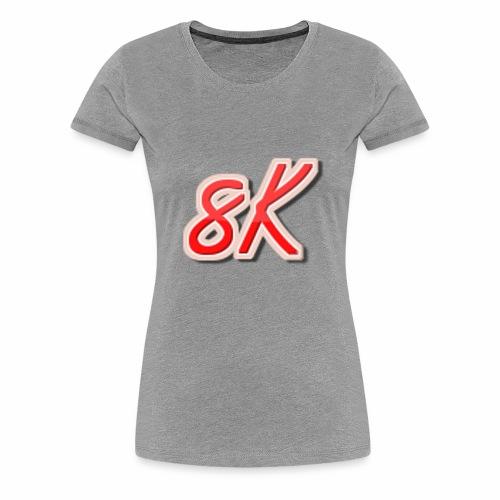 8K - Women's Premium T-Shirt