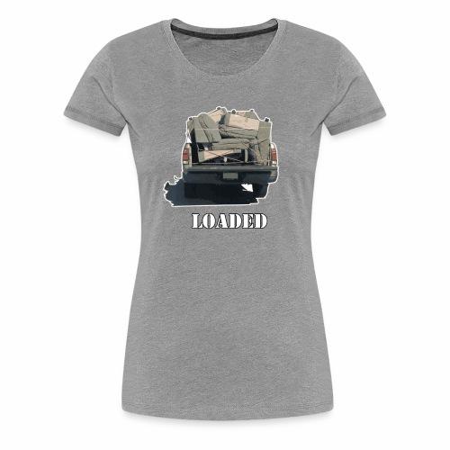 Truck Loaded with Sofa - Women's Premium T-Shirt