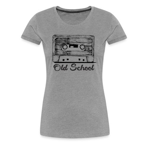 old school breakdancing K7 - Women's Premium T-Shirt
