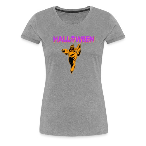 Halloween Cute Ghost Holiday T shirt - Women's Premium T-Shirt