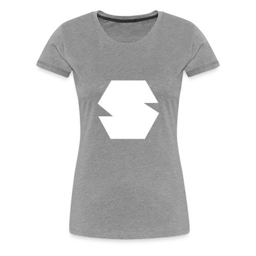 Species Logo White - Women's Premium T-Shirt