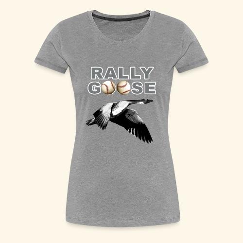 Detroit Rally Goose Baseball Lucky Charm Design - Women's Premium T-Shirt