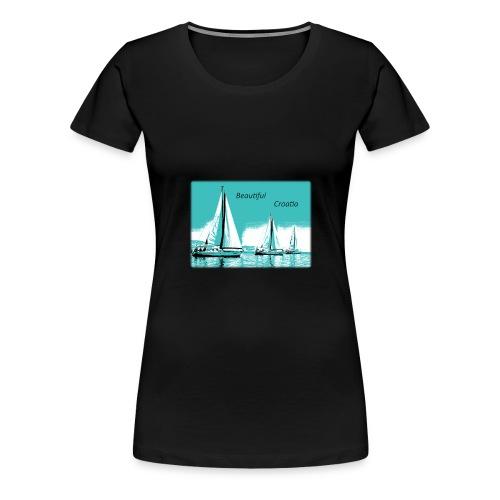 Beautiful Croatia - Women's Premium T-Shirt