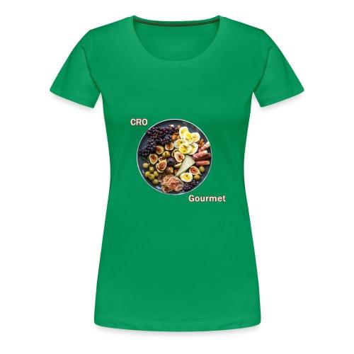 Croatian Gourmet - Women's Premium T-Shirt