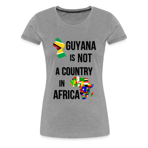 Guyana Africa png - Women's Premium T-Shirt