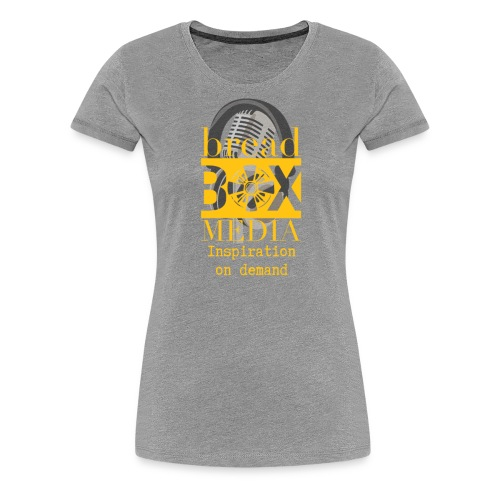 Breadbox Media - Inspiration on demand - Women's Premium T-Shirt