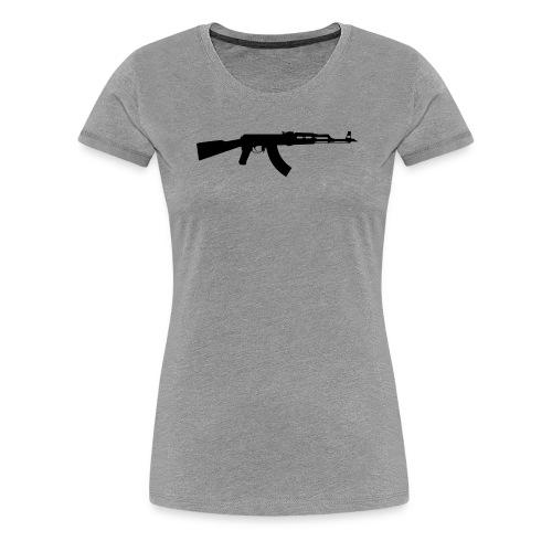 ak 47 one gun - Women's Premium T-Shirt