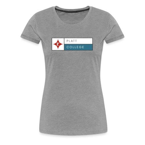 Platt College Logo 2000 - Women's Premium T-Shirt