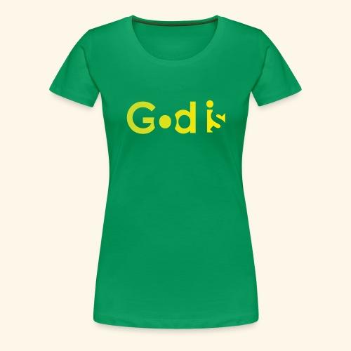 GOD IS #7 - Women's Premium T-Shirt