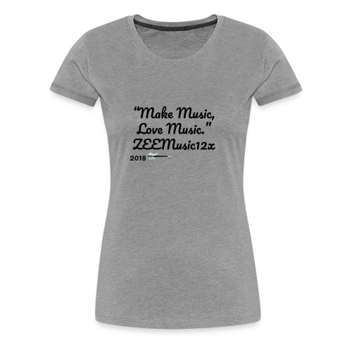 ZEEMusic Merch - Women's Premium T-Shirt