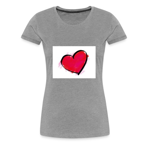 heart 192957 960 720 - Women's Premium T-Shirt