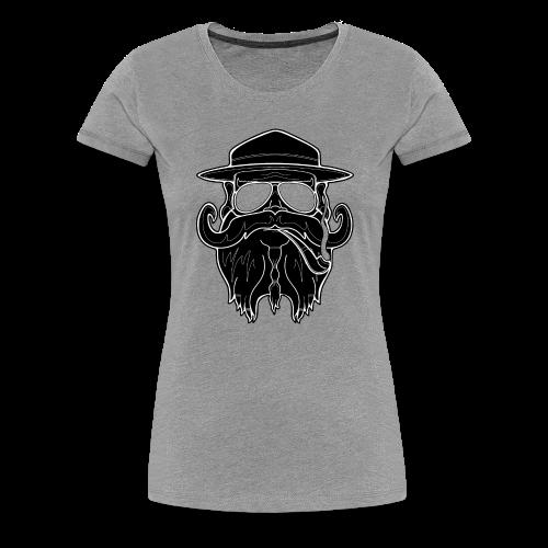 OldSchoolBiker - Women's Premium T-Shirt