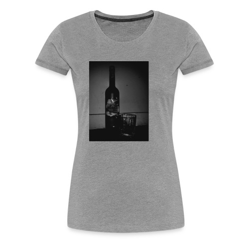 BLACK AND WHITE Grey Goose - Women's Premium T-Shirt