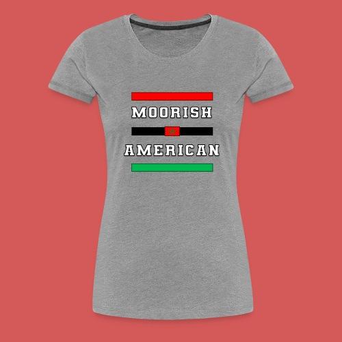Moorish American Bars - Women's Premium T-Shirt