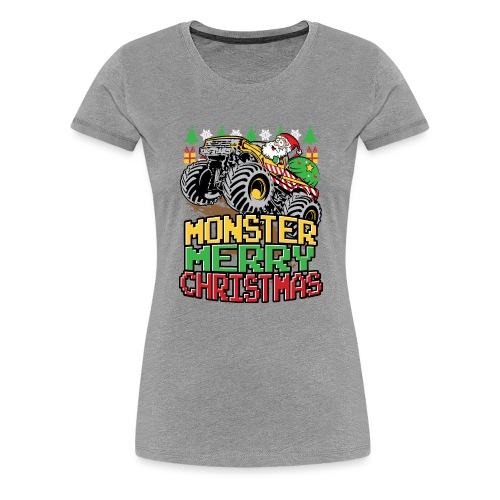 Santa Christmas Truck - Women's Premium T-Shirt