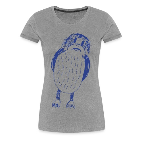Stephen's hand drawn porg - Women's Premium T-Shirt