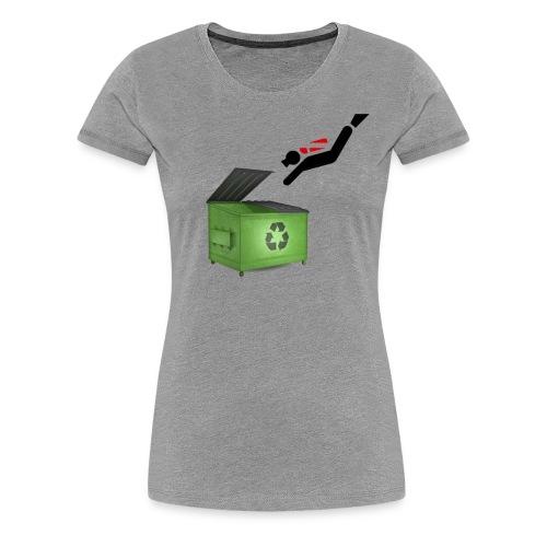 Dumpster Diver Scuba - Women's Premium T-Shirt