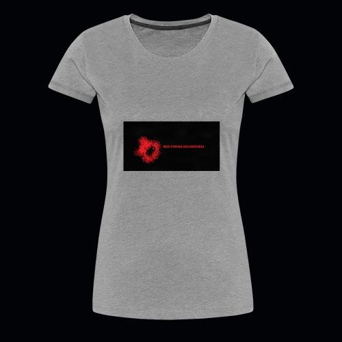 Red String Recording - Women's Premium T-Shirt