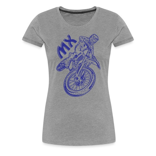 Motocross MX Racer - Women's Premium T-Shirt