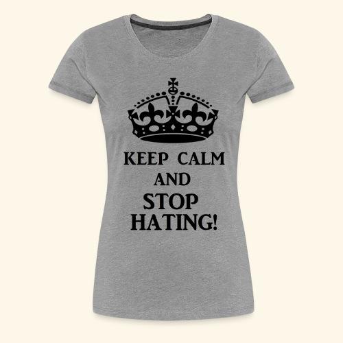 stoph8ingblk - Women's Premium T-Shirt